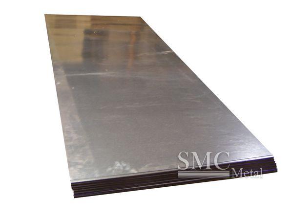 Calibre fino galvanizado folha de metal