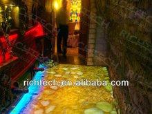 RichTech portable dance floor for night club, wine bar, hotel etc