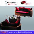 À long canapé canapé salon canapé avec coussins
