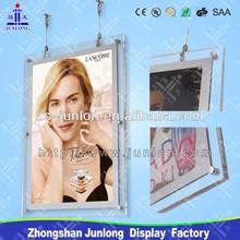 Innovation Advertising Products, Suspended Crystal LED Light Box Acrylic LED Light Box, Zhongshan Junlong JL-SD