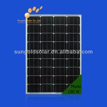 Marine solar panel 100W 12v