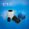 IP68 plastic waterproof cable gland with RoHs certification