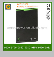 Mobile phone battery for Blackberry JM1 9900 9790 9860 9380 9930
