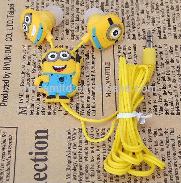 Despicable Me Minion Earphones & Headphone