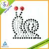 Gemstone Animals Snail Sticker Scrapbooking Embellishment Sticker