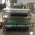 Estilo roller calor sublimação máquina de transferência de qy- c2 para têxteis