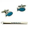 Custom Cufflinks and Tie Clip Sets