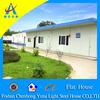 economic flat roof light steel prefab house(CHYT-F3050)