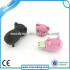 bulk cute animal shape usb flash drive with good quality