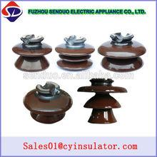 High quality electric ANSI 33 kv pin ceramic insulator for LV