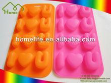 Hot sale Unique design colorful Food grade silicon cooking mould