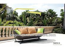 garden outdoor PE rattan sofa furniture (TG0078-18)