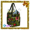 wine non woven bag fabric tote shopping bag with full color printing