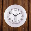 New design digital round clock for promtion plastic round clock