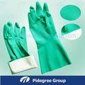 long gants de ménage en caoutchouc coloré