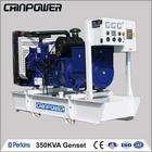 350 KVA Perkins Diesel GeneratorS Set 50HZ 1500RPM/MIN, alternator 220v