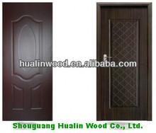 Indoor decorative door skin