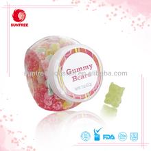 Super sour wholesale gummi candy lemon flavor