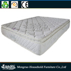 Bamboo mattress/ rolll up bamboo pillow top pocket spring mattress
