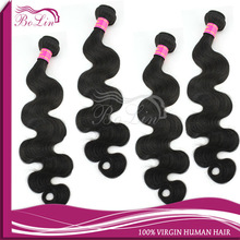 alibaba Express hot new products for 2014 top grade Peruvian hair weft