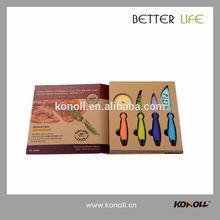 ER-0068 Professional Non-Stick Coating Pizza Knife Set