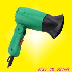 Mini foldable handle hair dryer helmet