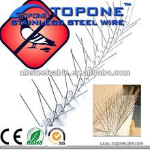 professiona China factory bird control stainless steel anti bird spikes