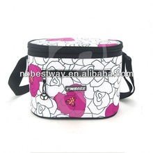 Hot sales great for golf insulated 6 can polyester tube cooler bag