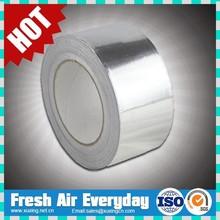 venta caliente resistente al calor a prueba de fuego de auto adhesivo de papel de aluminio cinta