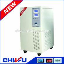 new type single phase full automatic servo motor control 20KW 220v ac voltage regulator