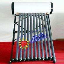 Galvanized steel pressurized solar water heater heat pipe solar hot water solar boiler solar geyser