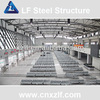 prefabricated large span light steel frame grid structure workshop roof roofing