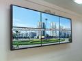 Full HD 42 pulgadas de alto brillo exterior Lcd exhibición de pantalla de vídeo, Marvel exterior Lcd Lcd luz de fondo de pantalla mural de vídeo de