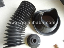 EPDM accordion rubber sleeves/moled rubber bellows