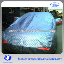 3 layer cotton padded hail protection car cover
