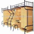 nuevo diseño de dormitorio de hierro forjado cama litera