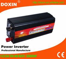 3KW Solar Power Inverter for Off Grid Solar System 3000W 12V DC to 220V/230V AC Modified Sine Wave Output