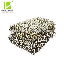 Various Kinds Animal Printed Mink Blanket