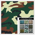 Anti-Static CVC printed camouflage fabric for military uniform
