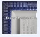 non-slip ceramic swimming pool external corner edge tile