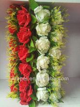 China Cheap Fake Rose Flowers Cylinder Wedding Decoration