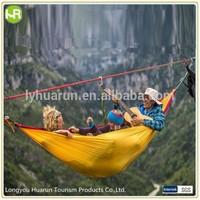 2014 Outdoor Bi-Color Parachute Fabric Hammock