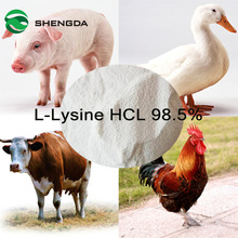 L Lysine HCL 98.5% feed grade additives Amino Acids Type Promote Healthy & Growth Efficacy