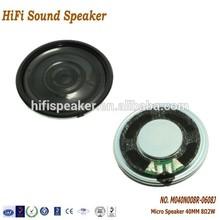 40mm 8ohm 2W High quality Micro Speaker