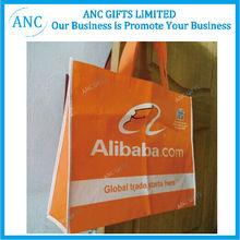 eco logo printed recycle bag wholesale non woven shopping bag