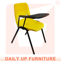 Hot Sell School Chair with Writing Board,Durable Training Chair with Firm Frame,Multi-Color Fashion Student Chair