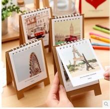 mini paper spiral scenery Calendar