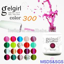 [I.C.E]New products! salon professional nail polish gel SOAK OFF NAIL GEL POLISH,raw material for nail polish