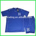 2014 copa del mundo de honduras lejos camiseta de fútbol, diseño personalizado de fútbol uniforme