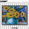 の暖炉の壁画ljjy-jh-fv06手作りタイルモザイクアート壁はガラスの絵画を掛けるの花瓶の絵のデザイン